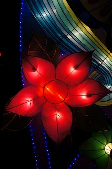 Free Lantern In Flower Shape Royalty Free Stock Images - 26881269
