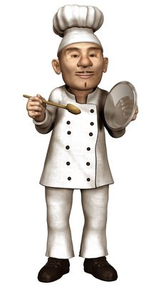 Free Toon Chef Stock Photo - 26882840
