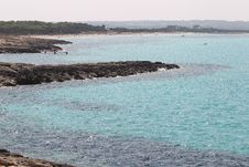 Seascape On The Island Of Formentera Stock Photography