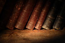Free Old Books Stock Image - 26883241