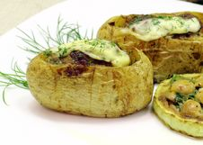 Free Stuffed Potatoes Stock Photos - 26888393