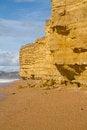 Free Sandstone At Burton Bradstock Beach Dorset Stock Image - 26892521
