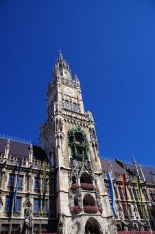 Free Marienplatz Munich Royalty Free Stock Photography - 26890107