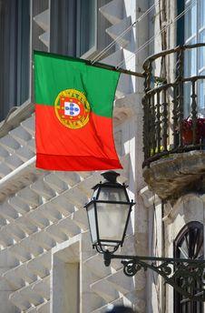 Free Portoguese Flag Royalty Free Stock Photos - 26890288