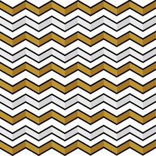 Seamless Geometric Pattern With Zigzags Stock Photography
