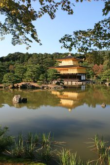 Free Kinkakuji The Golden Temple Royalty Free Stock Image - 26891406