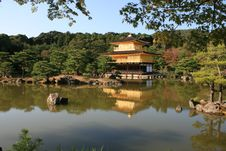 Free Kinkakuji The Golden Temple Stock Photos - 26891423