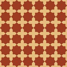 Free Seamless Islamic Pattern Royalty Free Stock Photo - 26891735