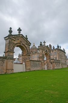 Free Arches Of The Castle Stock Image - 26893731