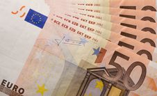 Free 50 Euro Bills Stock Photos - 26896333