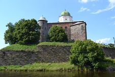 Vyborg Castle Royalty Free Stock Photos
