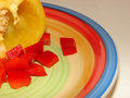 Free Peppers On Plate Stock Photography - 2692492