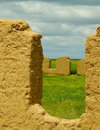 Free Farm Ruins In Steppe Royalty Free Stock Photo - 2696385