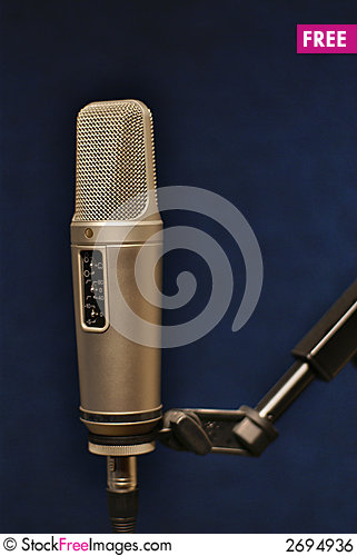 Free Professional Microphone Royalty Free Stock Image - 2694936
