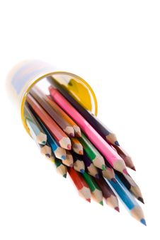 Free Color Pencils Royalty Free Stock Photos - 2690038