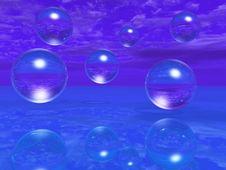 Free Water Balls Stock Image - 2690441