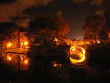 Free Old European City: Night View Stock Photos - 2691573