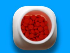 Free Box Of Pills Stock Images - 2691744