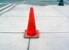 Free Orange Cone Royalty Free Stock Photo - 2692515