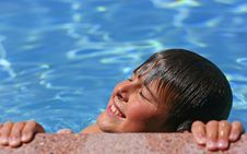 Free Young Boy Enjoying The Sun Stock Photography - 2692612