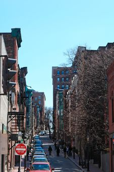 Free Beacon Hill Street Royalty Free Stock Images - 2693069