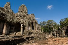 Free Bayon At Angkor Thom Royalty Free Stock Photo - 2693885