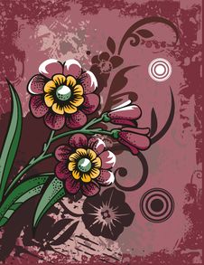Free Floral Background Series Royalty Free Stock Images - 2694049