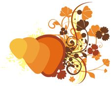 Free Colored Floral Background Stock Image - 2694101