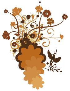 Free Colored Floral Background Royalty Free Stock Image - 2694106