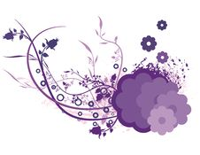 Free Colored Floral Background Stock Photography - 2694162