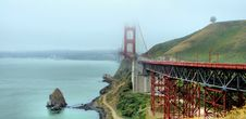 Free Golden Gate Bridge Royalty Free Stock Photography - 2694847