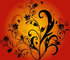 Free Floral  Background - Vector Stock Photos - 2695603