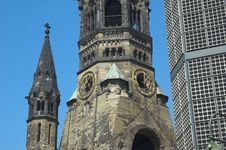 Free Kaiser Wilhelm Memorial Church Stock Photography - 2696422