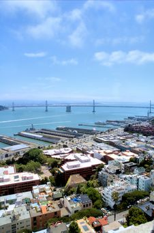 Free San Francisco Bay Bridge Stock Image - 2696751