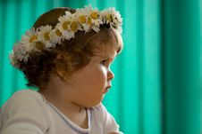 Free Pensive Toddler Princess Stock Photography - 2697382