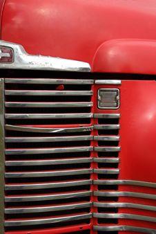 Farm Truck Grill Stock Image