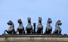 Free Bronze Horses Royalty Free Stock Photography - 2697677