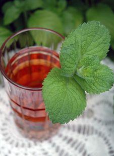 Free Iced Mint Tea Royalty Free Stock Image - 2697746
