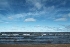 Great Slave Lake In North West Royalty Free Stock Image