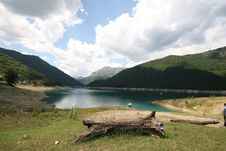 Free Piva Lake - Montenegro Royalty Free Stock Photos - 2699128