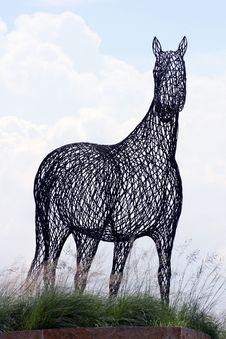 Free Steel Horses Royalty Free Stock Photo - 2699215