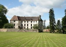 French Chateau Royalty Free Stock Image