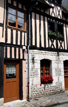 Free Timber Framed Normandy House Stock Photography - 2699962