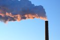 Free Smoke Stack In Early Winter Morning Stock Photography - 26902542