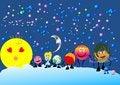 Free Solar System, Royalty Free Stock Photo - 26903865
