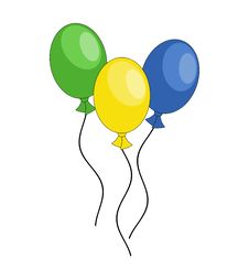 Free Party Balloons Royalty Free Stock Photo - 26908665