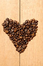Free Heart Shape Coffee Bean Stock Images - 26913174
