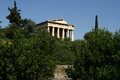 Free Temple At The Agora, Greece Royalty Free Stock Photo - 26918545