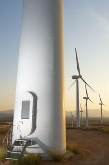 Free Wind Energy Stock Photography - 26910282