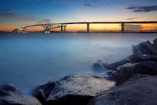 Free Tokyo Gate Bridge Stock Photography - 26910402